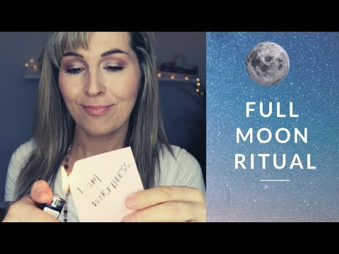 FULL MOON RITUAL-November 2018- RELEASE and INTENTIONS
