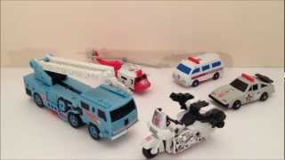 TRANSFORMERS G1 PROTECTOBOTS - VINTAGE TOY REVIEW