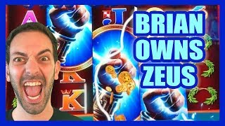 ⚡Brian OWNS Zeus + Kronos (Again!) ✦ Brian Christopher Slots
