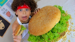 MAIOR HAMBURGUER DO MUNDO?
