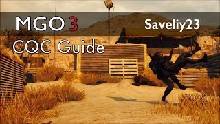 Metal Gear Online 3 - Full CQC Guide
