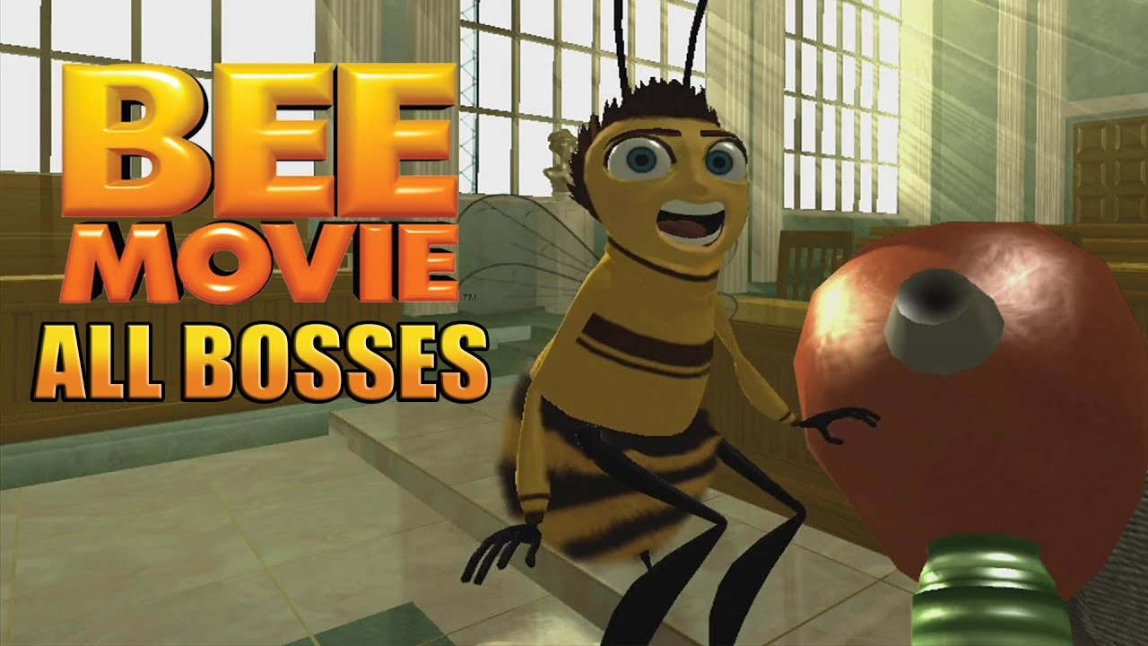 bee movie game all bosses youtube