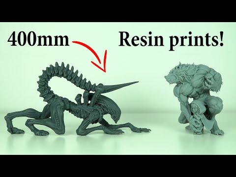 Phrozen Transform Review -  HUGE Resin 3D Printer!