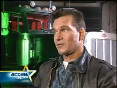 Patrick Swayze Talks Black Dog 1998