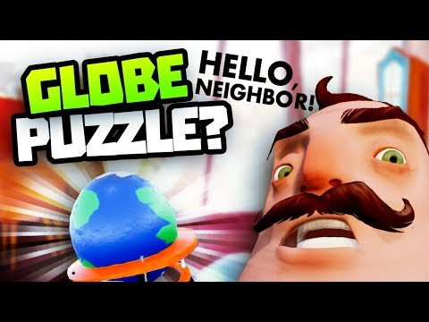 WHAT IS THIS GLOBE FOR? - Hello Neighbour New Hello Neighbor Beta 3 Gameplay - Hello Neighbor News