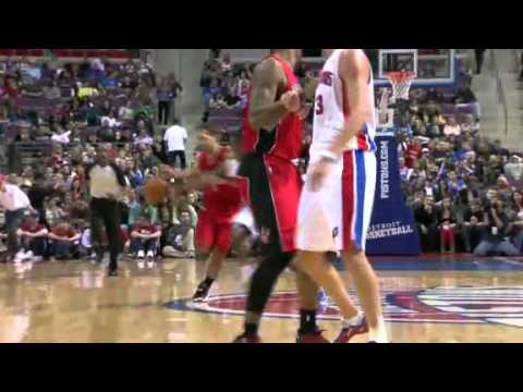 Raptors Vs. Pistons, Jose's Injury