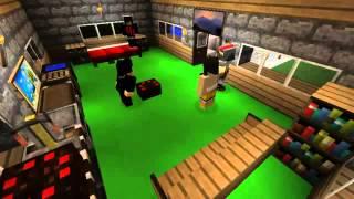 Minecraft приколы 58 серия   Новички ночь