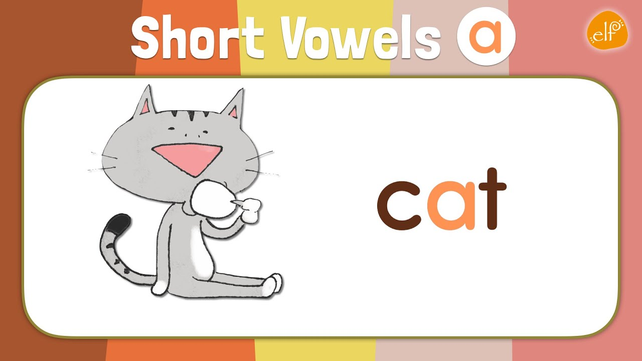 Short Vowels Chant For Kindergarten