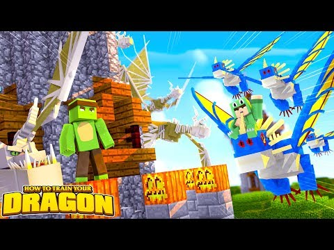 ASSEMBLING THE DRAGON ARMY - How To Train Your Dragon w/TinyTurtle & LittleLizard