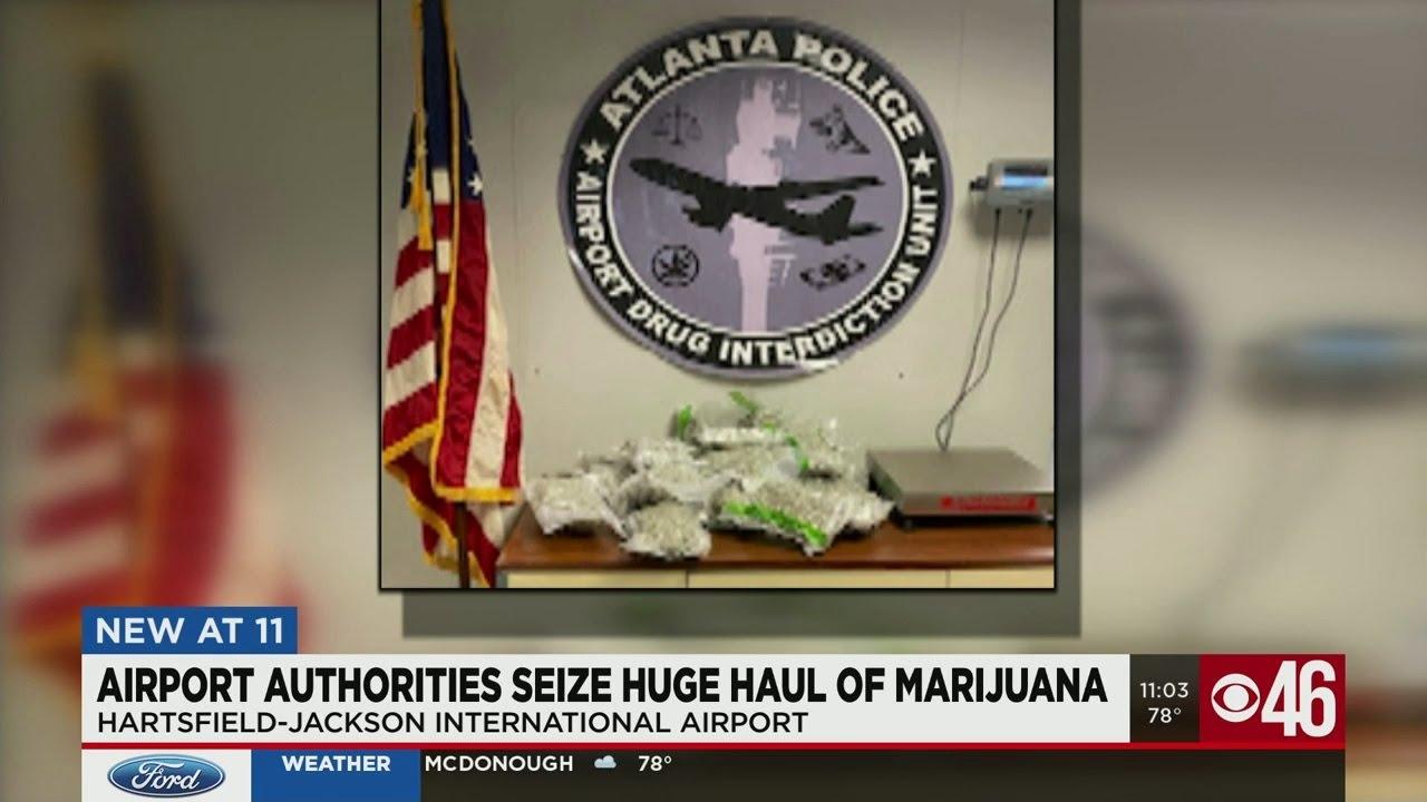 174 lbs Of Marijuana Found In ATL Airport
