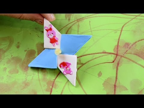 Как сделать Спиннер из модулей оригами мастер класс