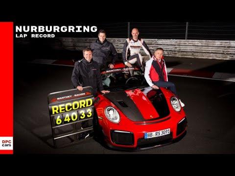Porsche 911 GT2 RS MR Nurburgring Lap Record Run
