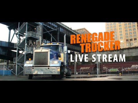 What happend to the engine in Blue & what happens next  Renegade Trucker Live Stream