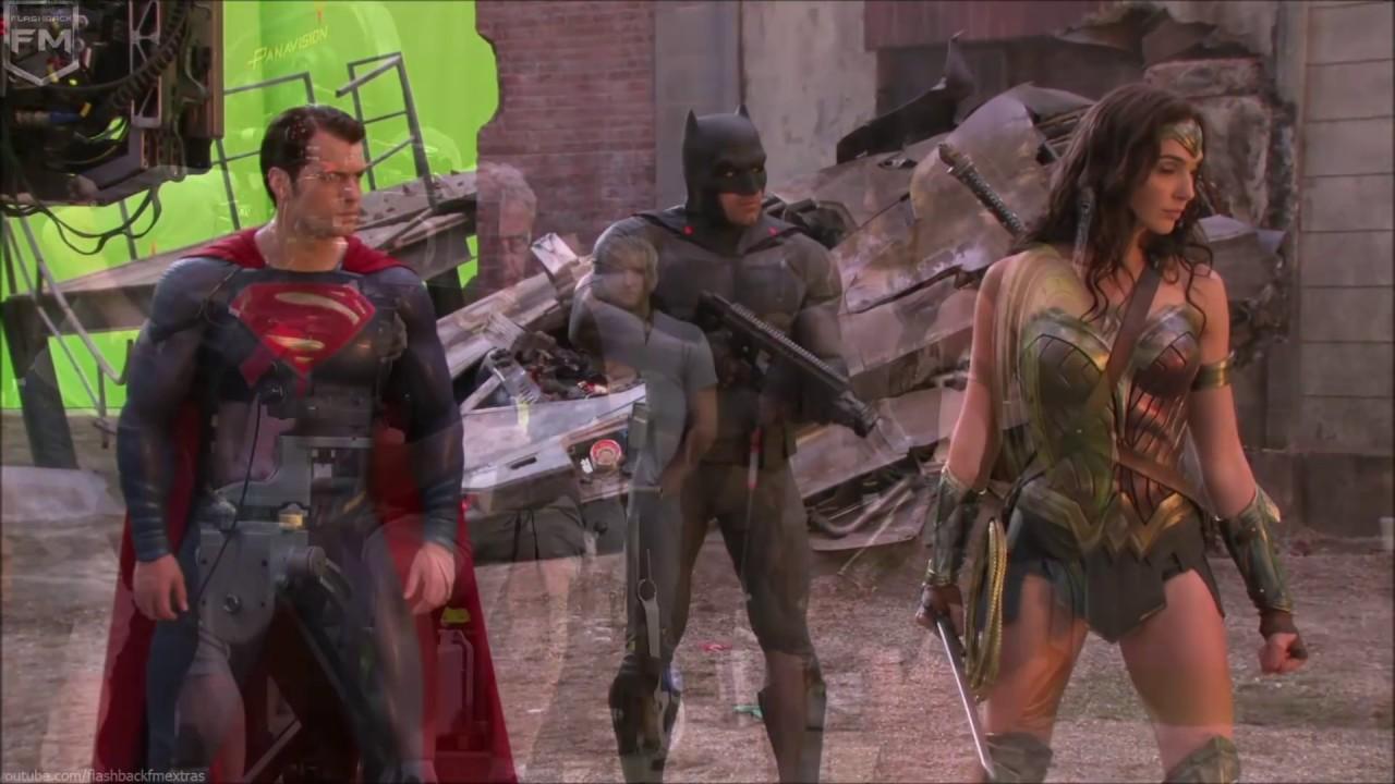 Behind the Scenes & Costume Test 'Wonder Woman' «BvS» Behind The Scenes