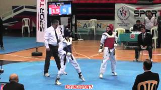 46kg Final Fatma Keles vs İklime Betul Karakus (2016 Turkish Junior Taekwondo Championships)