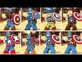 LEGO Marvel Super Heroes 2 - All Captain America Characters