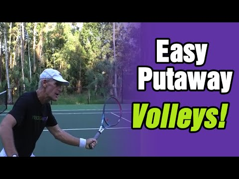 Do You Miss Easy Putaway Volleys?  Do This! - Tom Avery Tennis