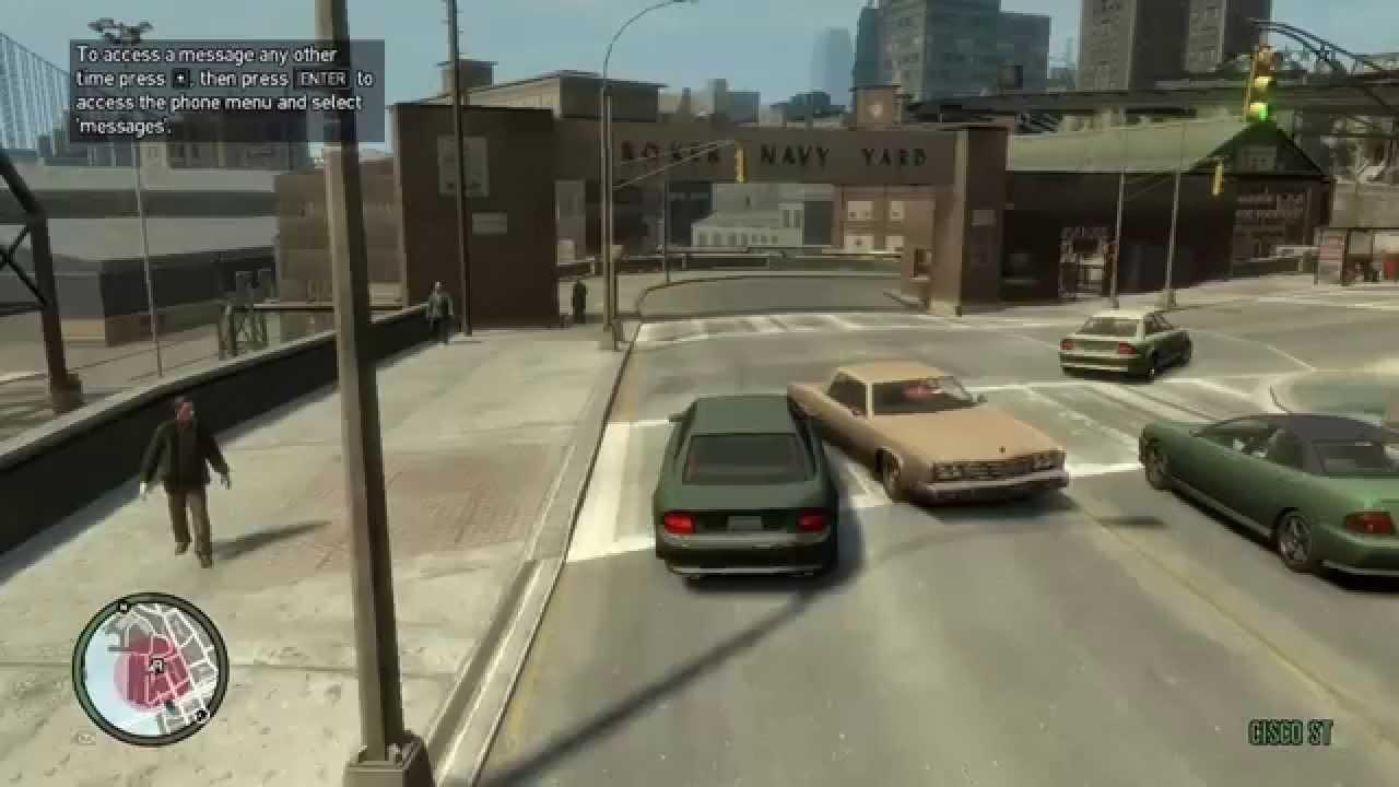 GTA 4 gameplay on AMD Radeon R5 M330