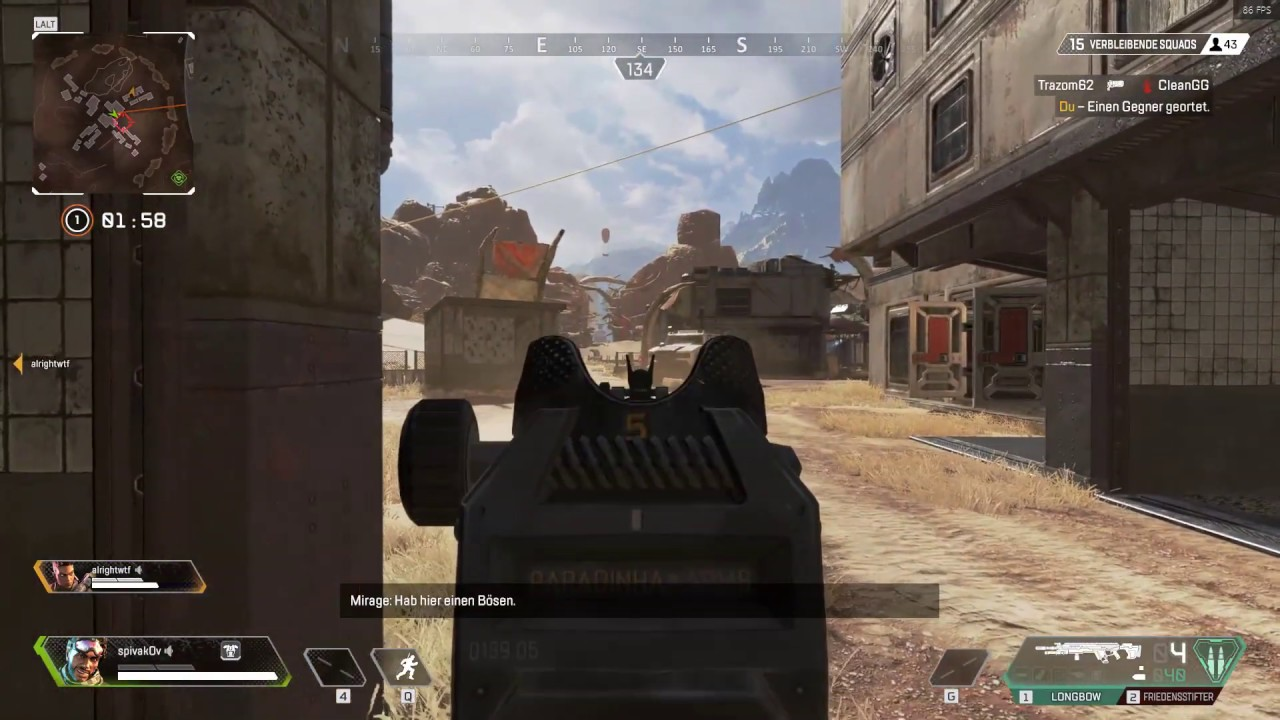 Apex Legends Revive Bug – Moving slow