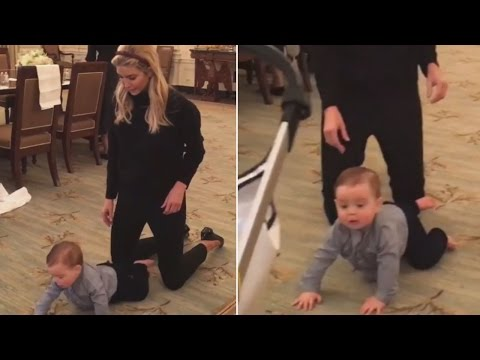 Ivanka Shares Video Of Donald Trump's Grandson Crawling At The White House