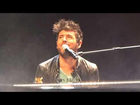 Pablo López en el Riberas del Guadaira (Inicio del concierto)