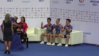 2017ヴロツワフ大会 エアロビック 競技の様子