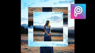 Photo Frame Effect - Picsart Tutorial