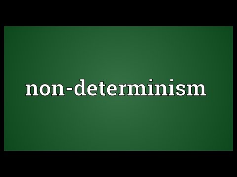 Header of Non-Determinism