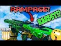 RAREST REACTIVE CAMO in BO4!? UNLOCKING the RAMPAGE REACTIVE CAMO in BO4!
