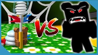 Secret Evil Bear in Roblox Bee Swarm Simulator