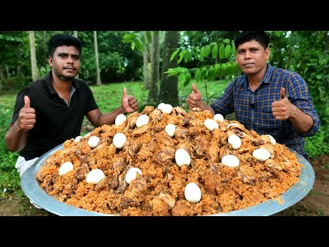 CHICKEN BIRYANI | Palakkadan Traditional Chicken Biryani Recipe Cooking In Village