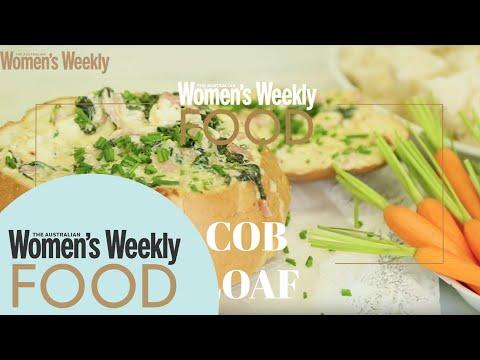 Spinach Dip Cob Loaf | RECIPES