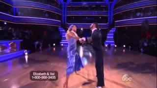 Elizabeth Berkley Lauren and Val Chmerkovskiy   Foxtrot   Dancing with the Stars  Season 17   Week 3