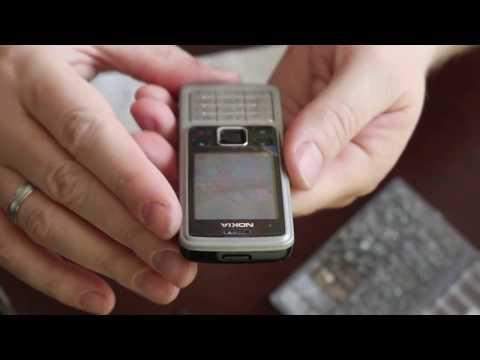 Замена корпуса Nokia 6300 недорого. Корпус из Китая. Телефон как новый.