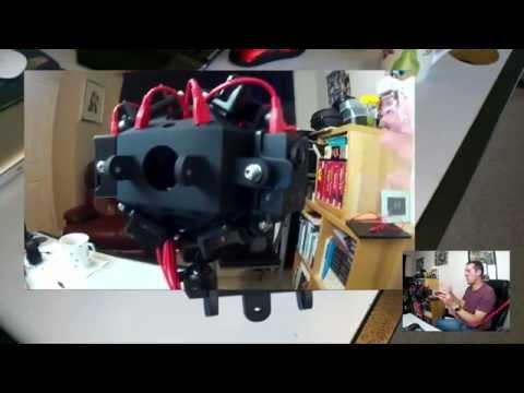 VR 360 Video 12 camera mount SJ4000 SJCAM project explanation