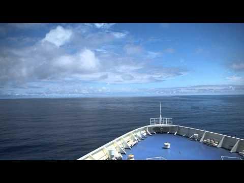 【前面展望】敦賀港~(日本海経由)~苫小牧東港①【新日本海フェリー】