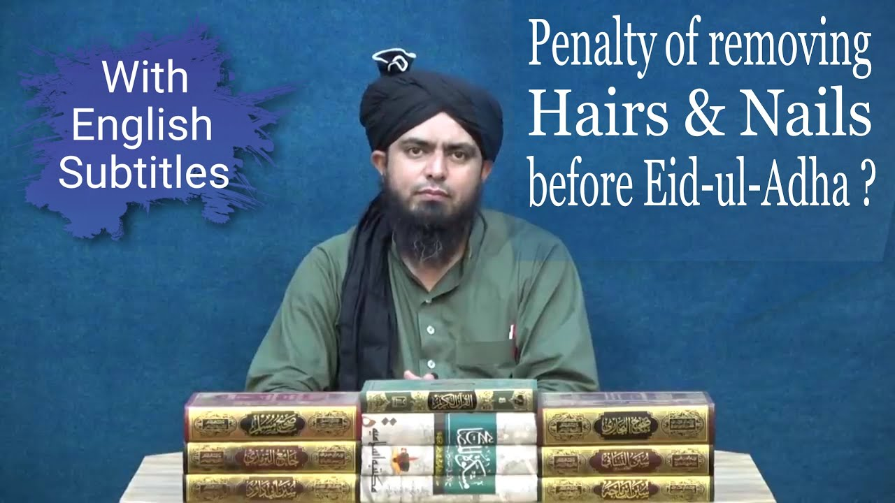 Removing Hair and Nails on Eid ul Azha  Cutting Hair and Nails on