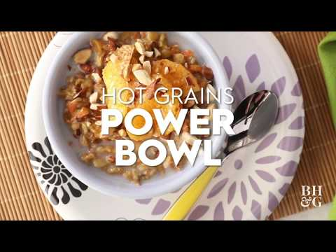 Hot Grains Power Bowl | Cooking: How-To | Better Homes & Gardens