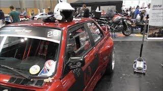 BMW E30 V8 Drift Show - Custom Wheels Vienna 2018