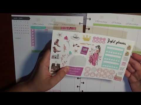Plan With Me: MAMBI Happy Planner Aug 27-Sept 3