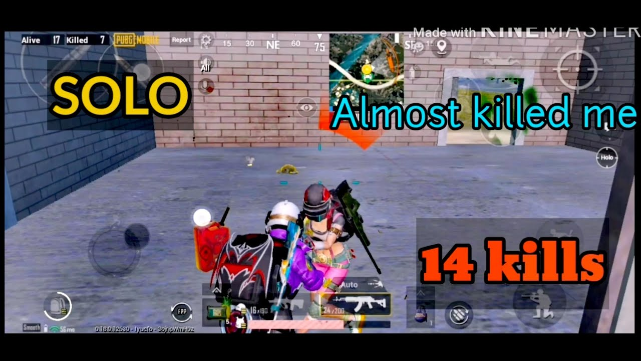 HE ALMOST KILLED ME (SOLO GAMEPLAY) 14 KILLS - YouTube