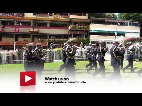 THE AIR MAURITIUS MAIDEN CUP 2017 - MAURITIUS POLICE BAND