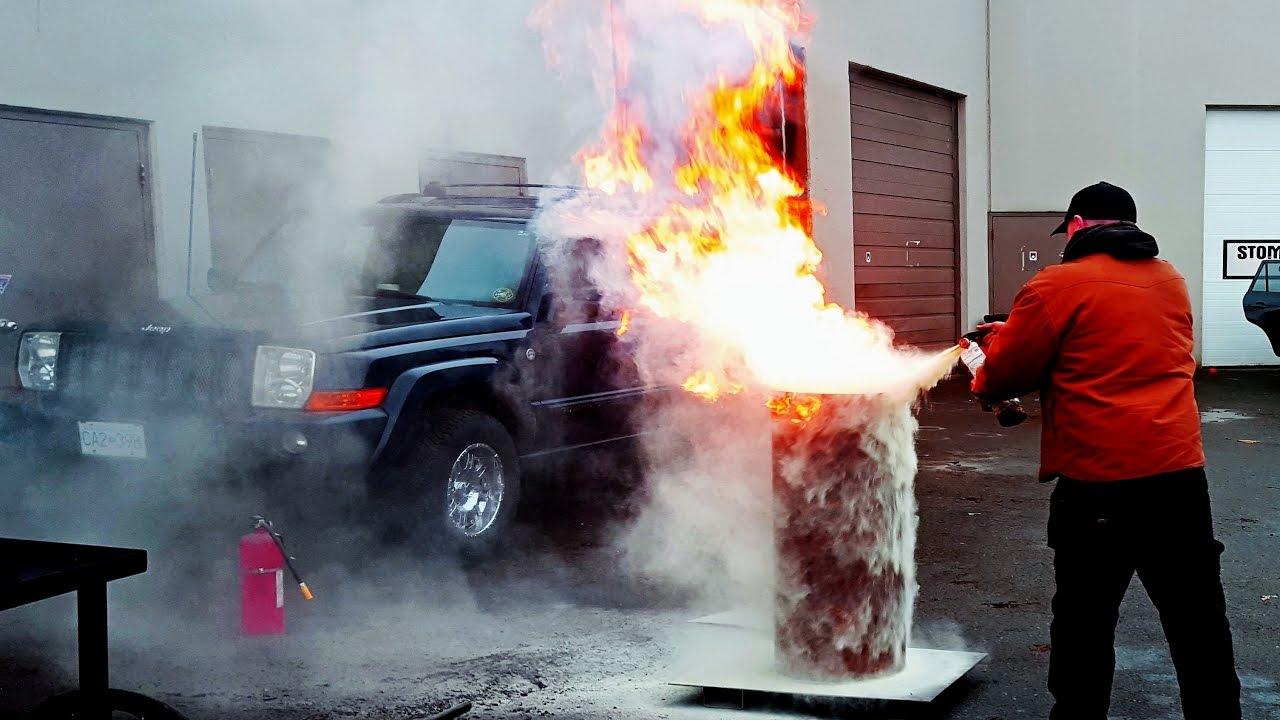 Dunking red hot anvil in motor oil 10 foot flame heat for Motor oil fire starter