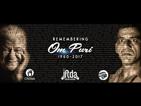 Remembering Om Puri | A tribute by IFTDA, CINTAA and IMPPA | 2017