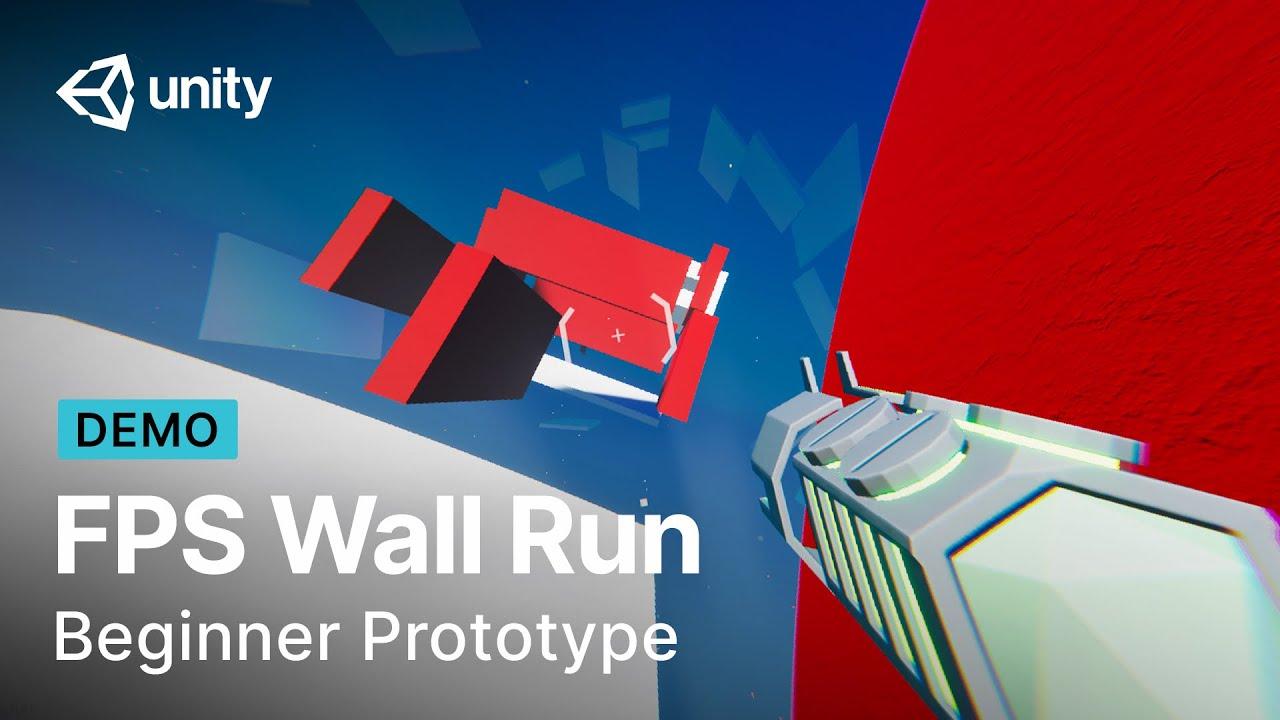 FPS Wall Run Prototype In Unity