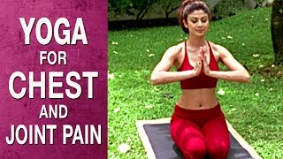 Video Yoga for Chest, spine and joint pain - Parvatasana (Hindi)  - Shilpa Yoga download MP3, 3GP, MP4, WEBM, AVI, FLV Juni 2018