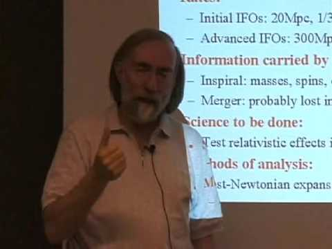 Overview of Gravitational-Wave Science (3/3) by Kip Thorne - GW Course: astro-gr.org