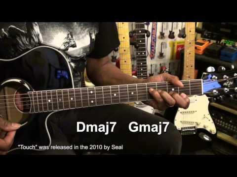 TOUCH For DUMMIES Seal Guitar Lesson EASY 2 Chord Song EricBlackmonMusicHD
