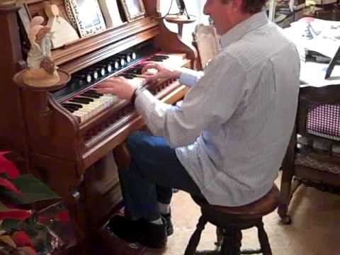 Jason D Williams plays boogie woogie on pump organ