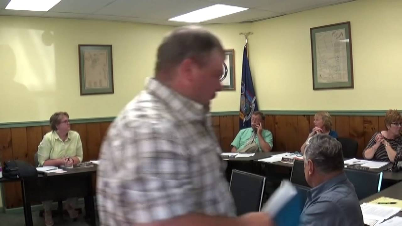 Champlain Village Board Meeting  7-11-16